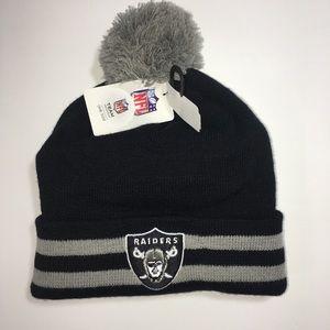 0036b150c03 NFL Accessories - NFL Boys Oakland Raiders Beanie